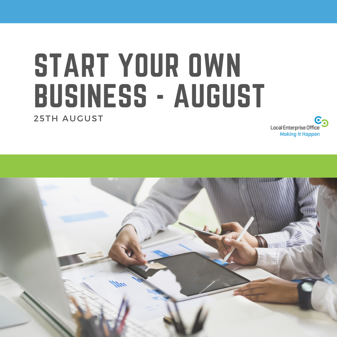 Start Your Own Business  August