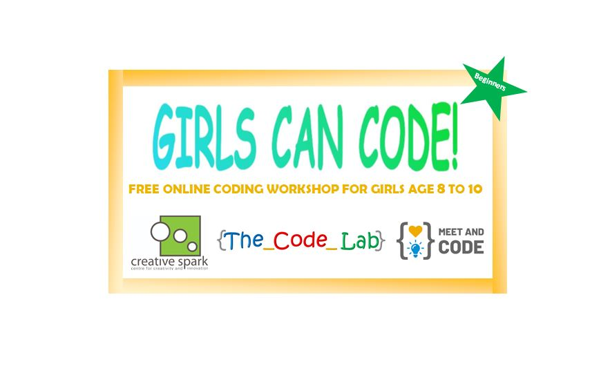 Free Coding Event for Girls Age 8 to 10 (Beginners)