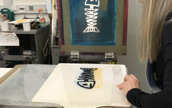 CANCELLED Screen-Print (Beginners)  One Day  9 June 2018