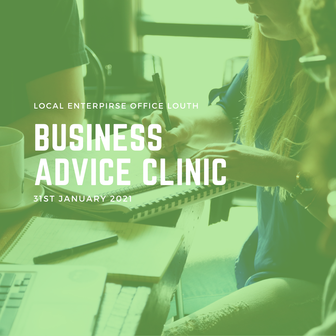 January Business Advice Clinic