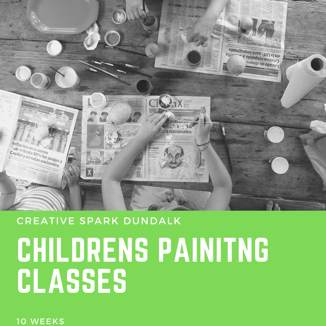 10 Week Childrens Painting Classes (Ages 7-14)